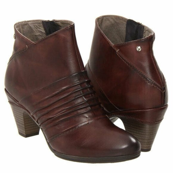 PIKOLINOS Shoes - Pikolinos Brown Ankle Boots 11.5 12